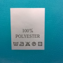 Правила стирки вещей из полиэстера