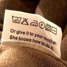Как расшифровать значки на одежде