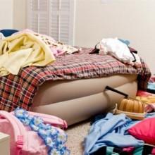 Как компактно хранить вещи в комнатах
