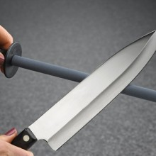 Как правильно точить кухонные ножи