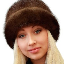 Чистка норковой шапки