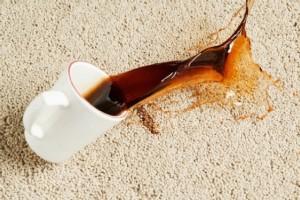 Выведение кофейных пятен
