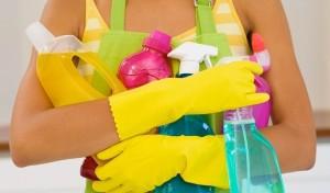 Чистим пластик от извести