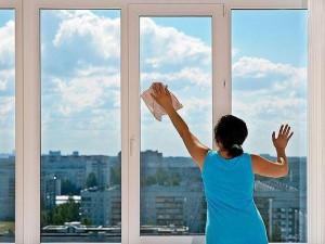 Моем окна без разводов