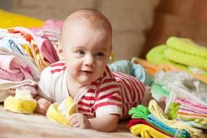Выбираем стиральный порошок для новорожденных