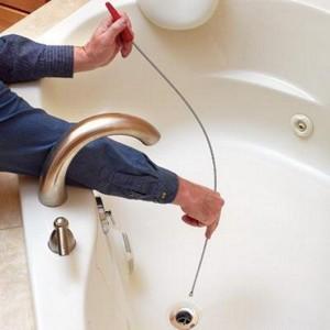 Засор в ванной