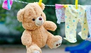Стираем мягкие игрушки