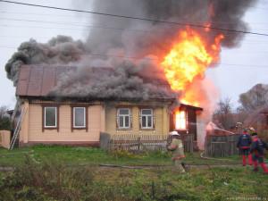 Убираем запах гари после пожара