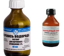 Чем отмыть фурацилин с кожи 135