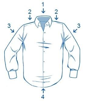 8a1a80ab6162add Как правильно гладить рубашку с длинным рукавом