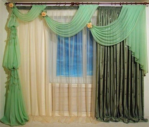 Как правильно вешать шторы и тюль