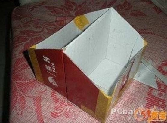 Двусторонняя коробка