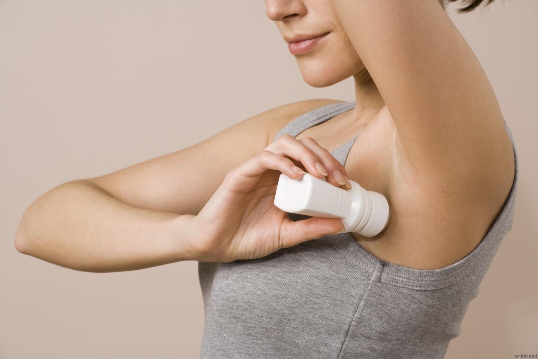 Как отстирать белые пятна от дезодоранта